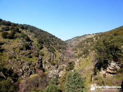 Cañón Río Aulencia-Embalse Valmenor; senderismo bierzo senderismo en portugal parque nacional de